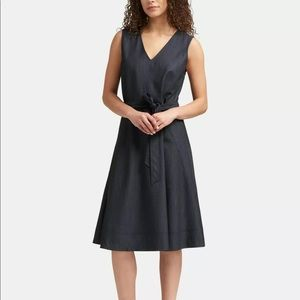 DKNY Dark A-Line Dress Denim dress